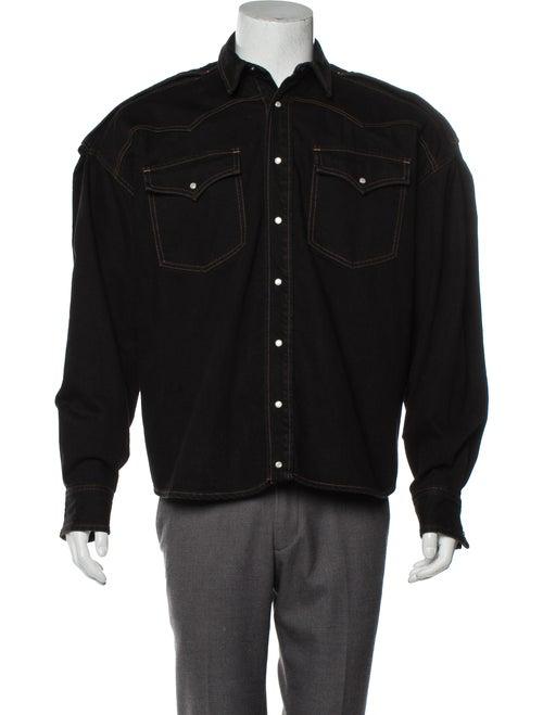 Y/Project Denim Oversize Jacket black
