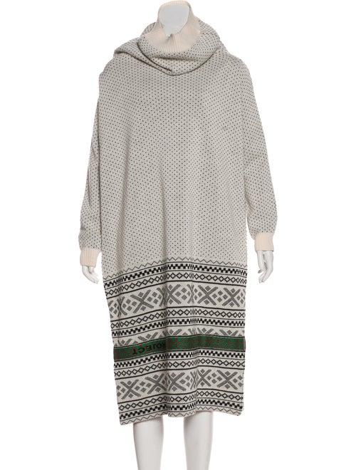Y/Project Printed Midi Length Dress