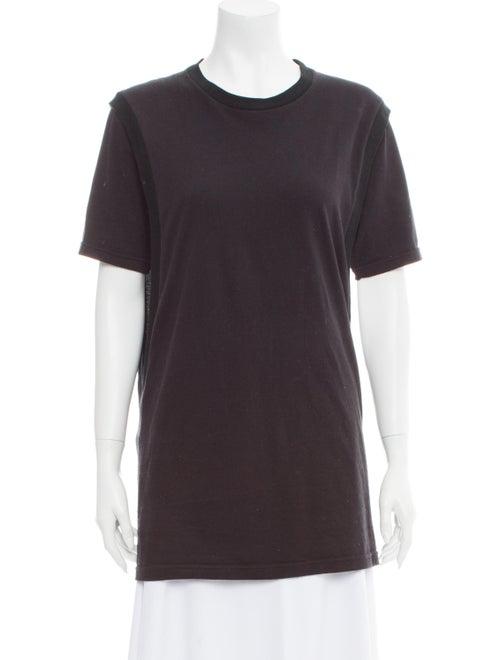 Y/Project Crew Neck Short Sleeve T-Shirt Black