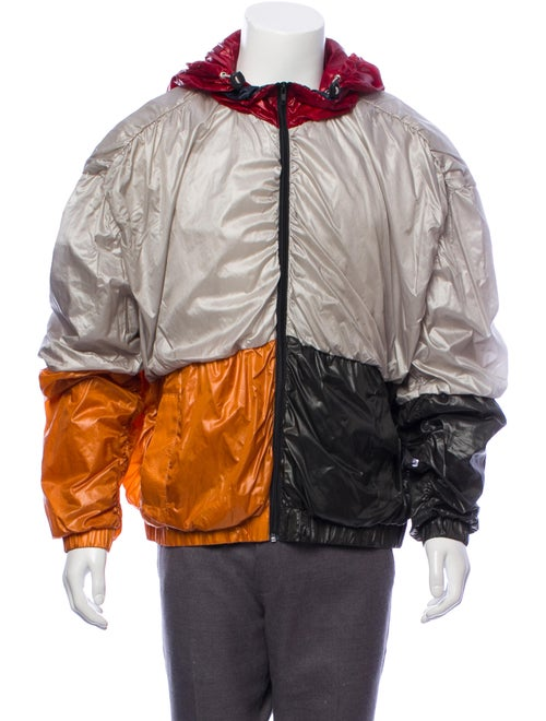 Y/Project Colorblock Windbreaker Jacket multicolor