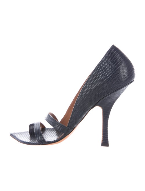 Y/Project Leather Pumps Blue