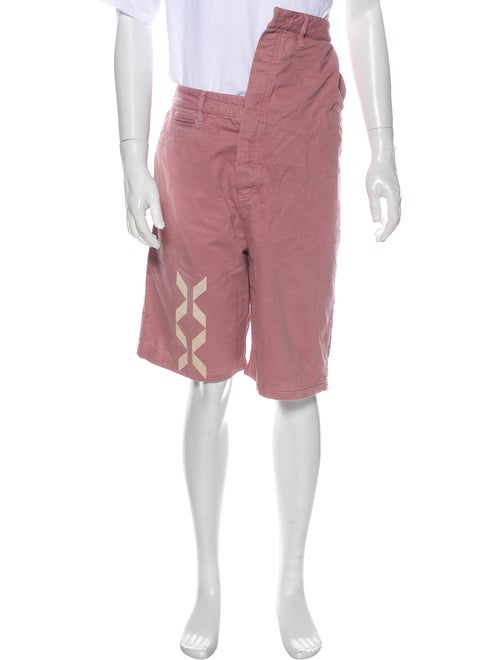 Y/Project Cargo Shorts Pink