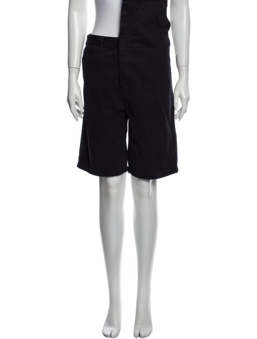 Y/Project Knee-Length Shorts Blue