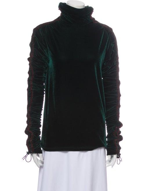Y/Project Turtleneck Long Sleeve Sweatshirt Green - image 1