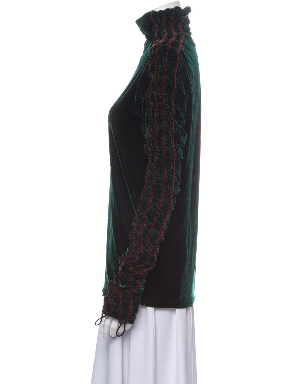 Y/Project Turtleneck Long Sleeve Sweatshirt Green - image 2