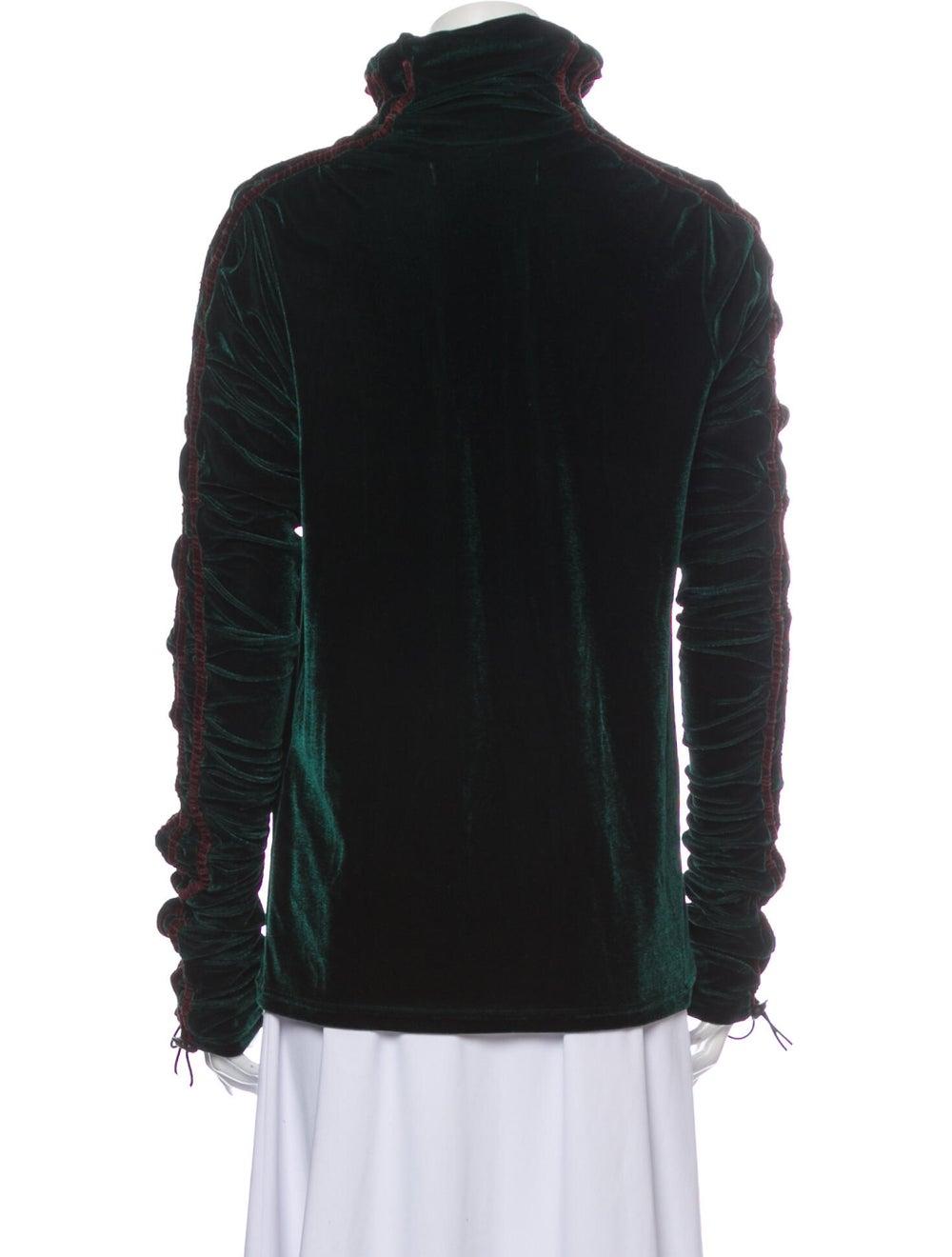 Y/Project Turtleneck Long Sleeve Sweatshirt Green - image 3
