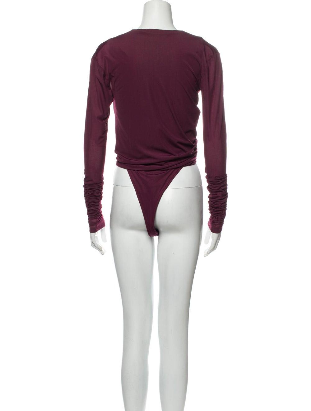 Y/Project Condom Bodysuit Crew Neck Bodysuit - image 3