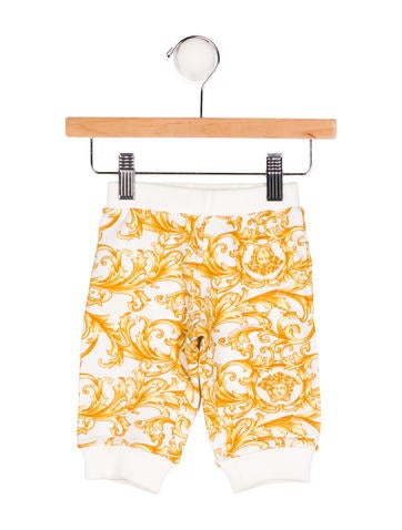 Young Versace Boys' Printed Knit Pants None