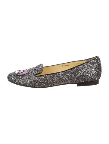 Maleficent Glitter Loafers