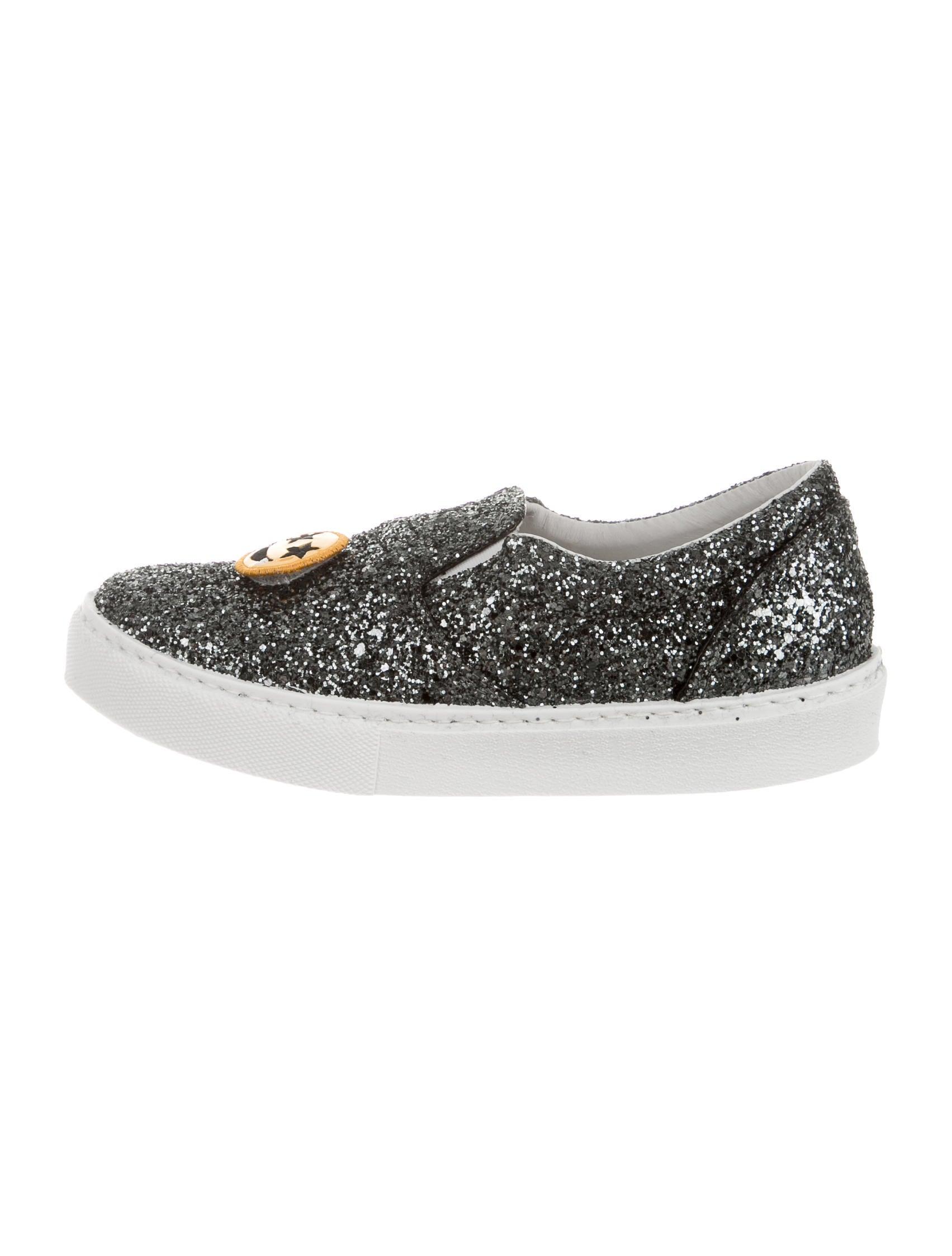 chiara ferragni sequin slip on sneakers shoes wyx20027