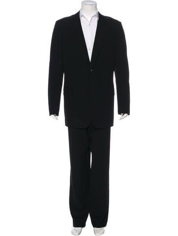 yohji-yamamoto-costume-dhomme-wool-blend-three-button-suit by yohji-yamamoto-costume-dhomme