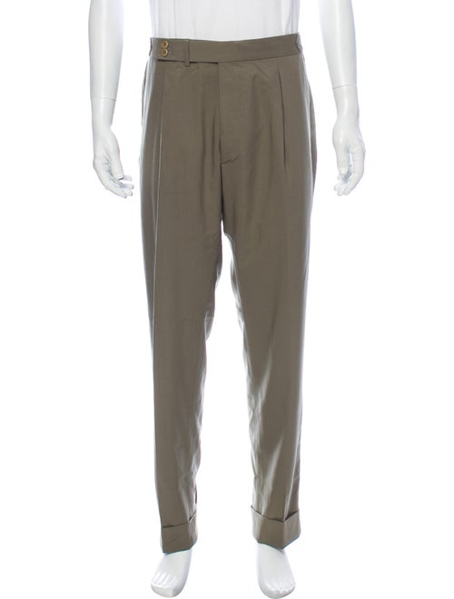 Zanellato Dress Pants Green