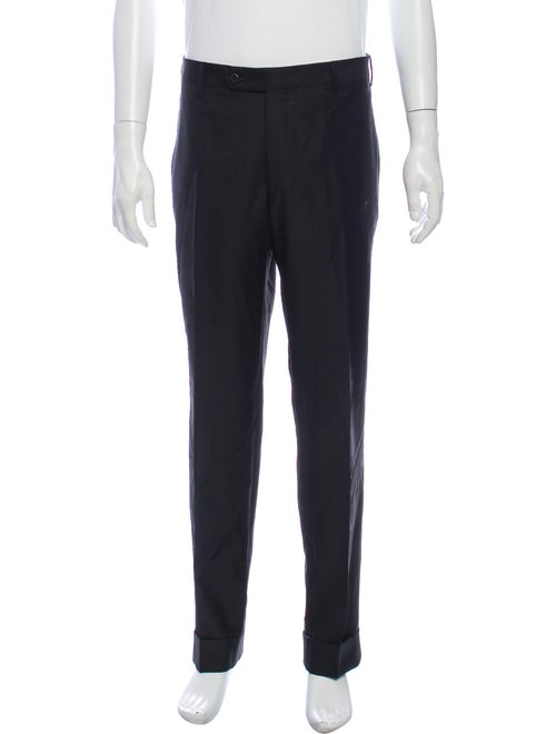 Zanellato Wool Dress Pants Wool