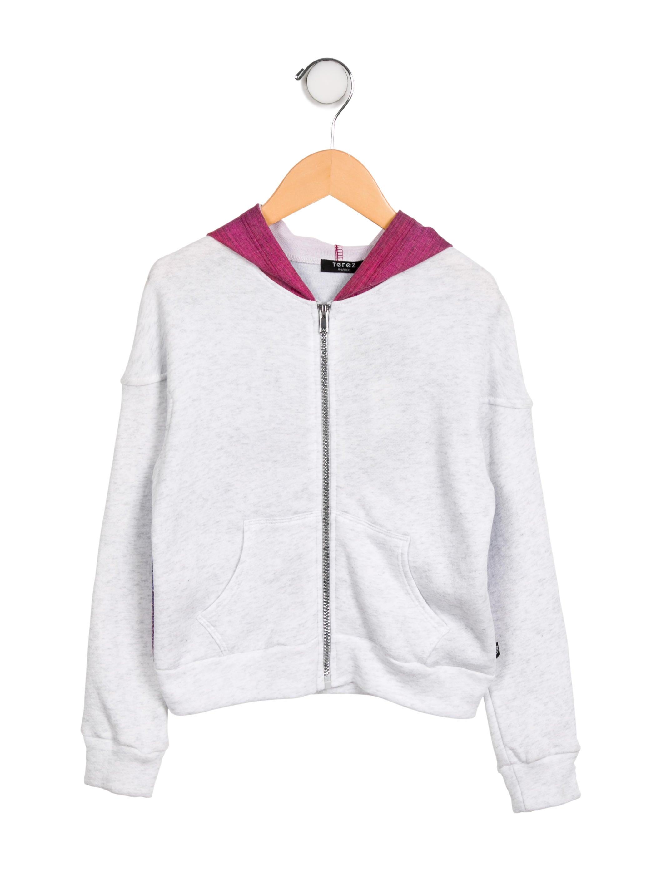 08890f63 Girls' Hooded Zip-Up Sweatshirt w/ Tags