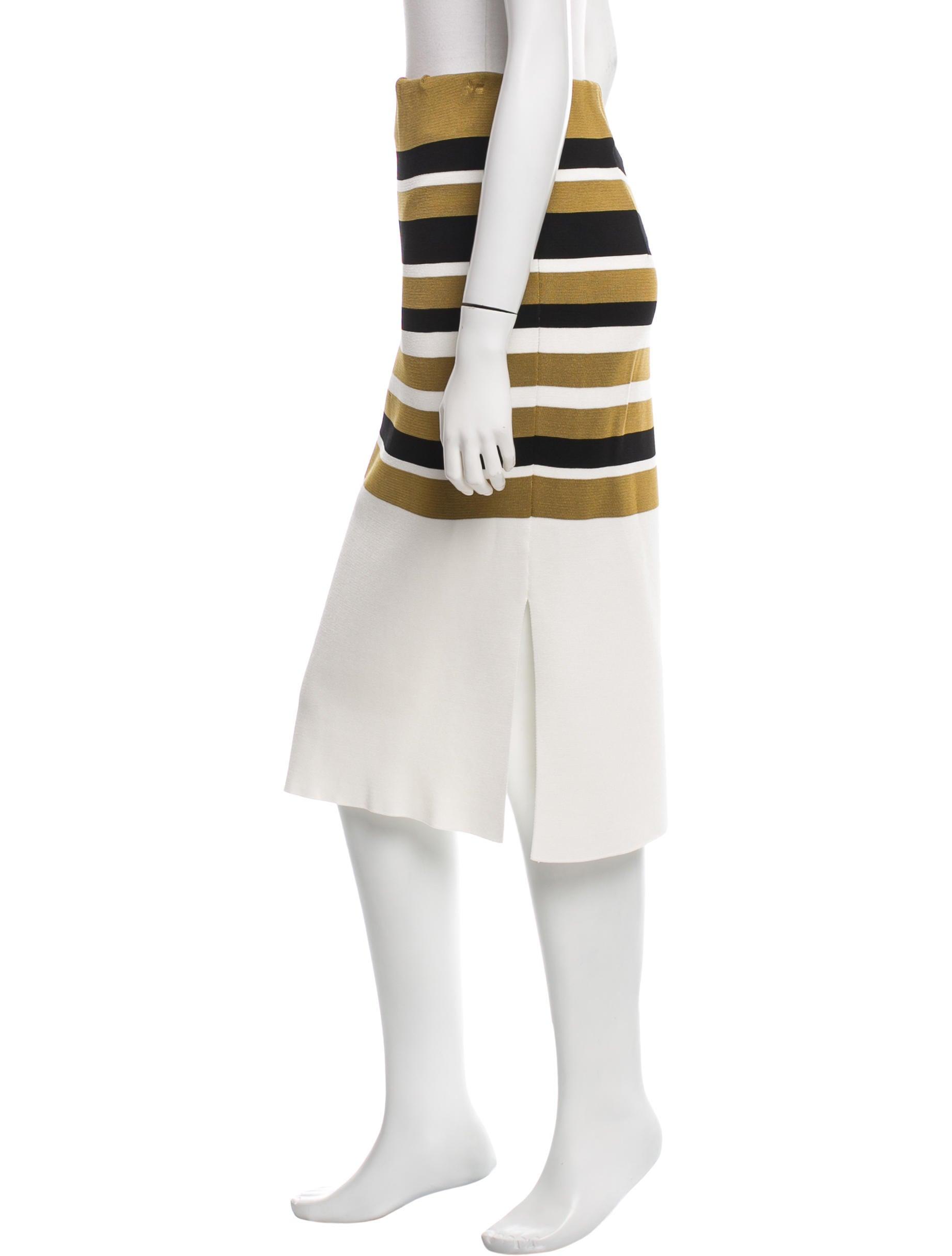Ganni Knit Pencil Skirt w/ Tags - Clothing - WZG20045 ...