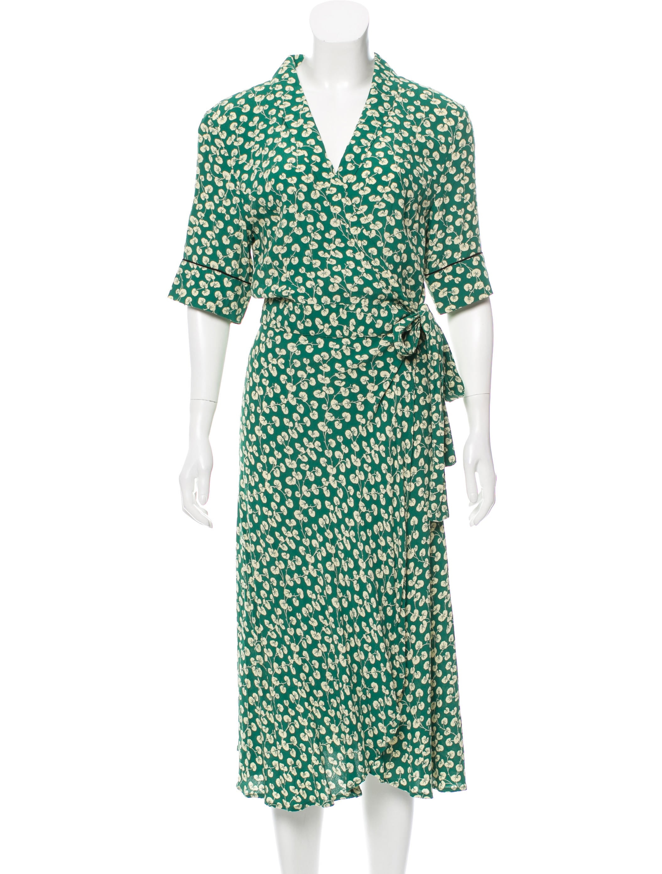 f1123dba Ganni Dalton Wrap Dress w/ Tags - Clothing - WZG20710 | The RealReal