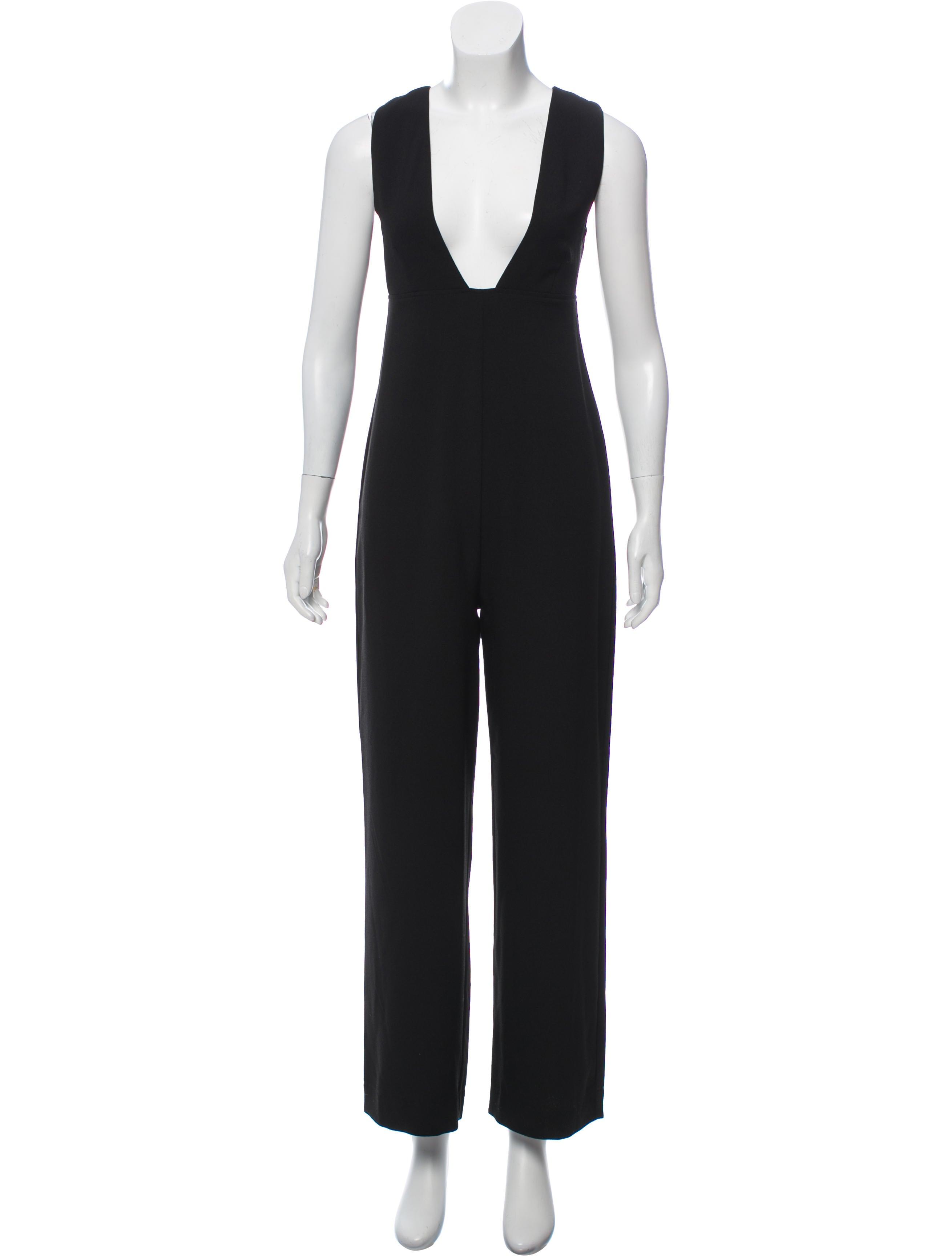 a24c2db5940e Ganni Clark Wide-Leg Jumpsuit w  Tags - Clothing - WZG21671