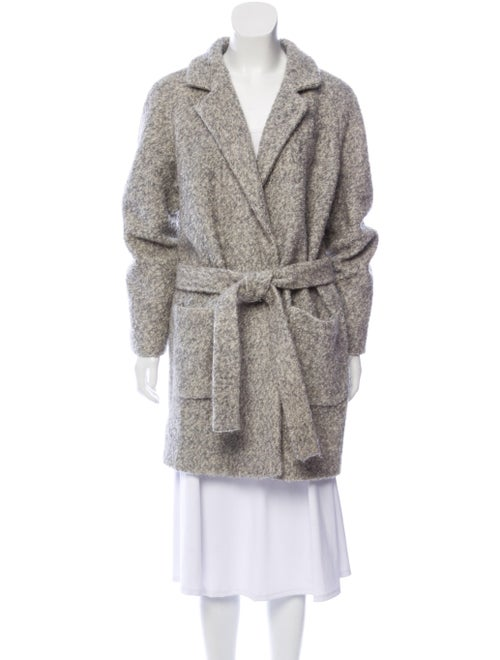 Ganni Coat Grey