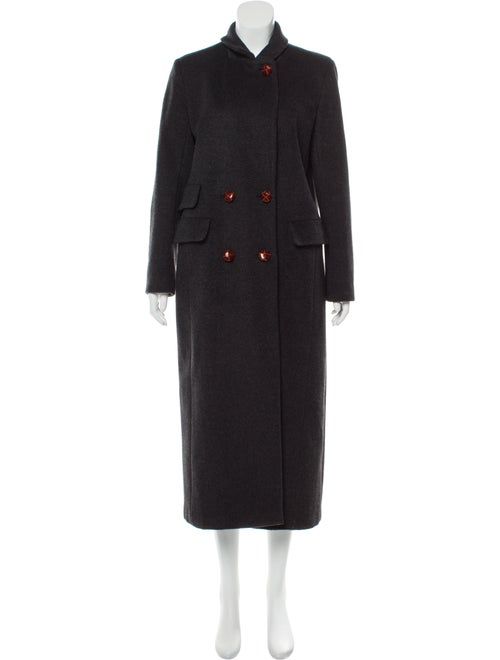 Ganni Wool Coat Wool