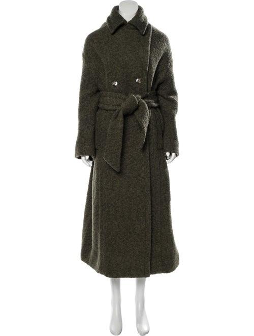 Ganni Trench Coat Green