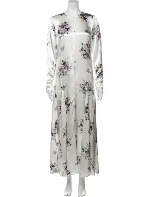 Ganni Cameron Long Dress w/ Tags White