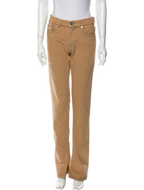 Ganni Mid-Rise Straight Leg Jeans w/ Tags