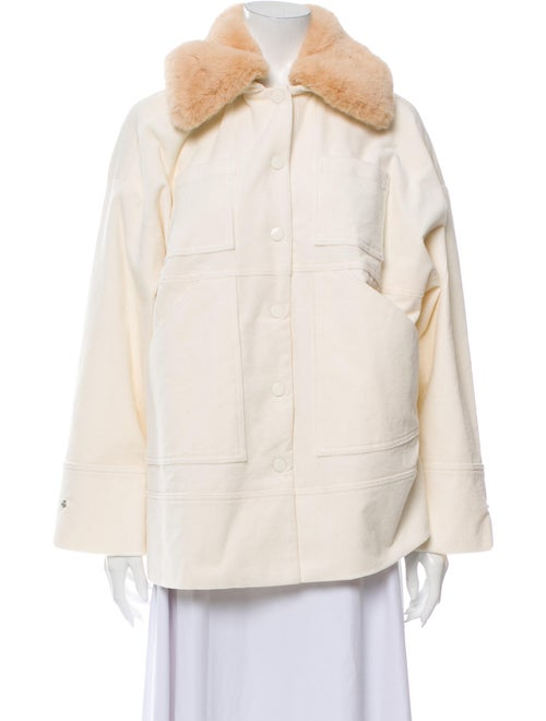 Ganni Jacket w/ Tags White
