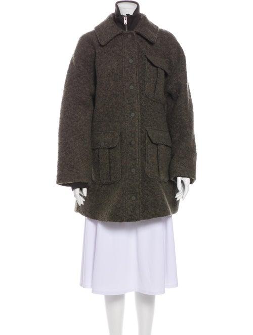 Ganni Coat Green