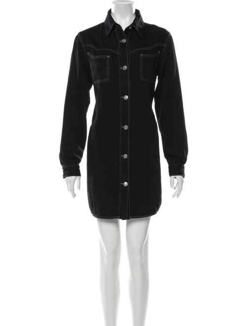 Ganni Mini Dress Black