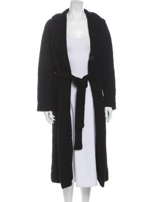 Ganni Coat Black