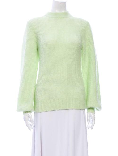 Ganni Mock Neck Sweater w/ Tags Green
