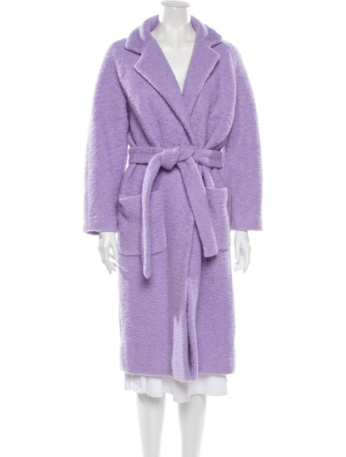 Ganni Coat Purple - image 1