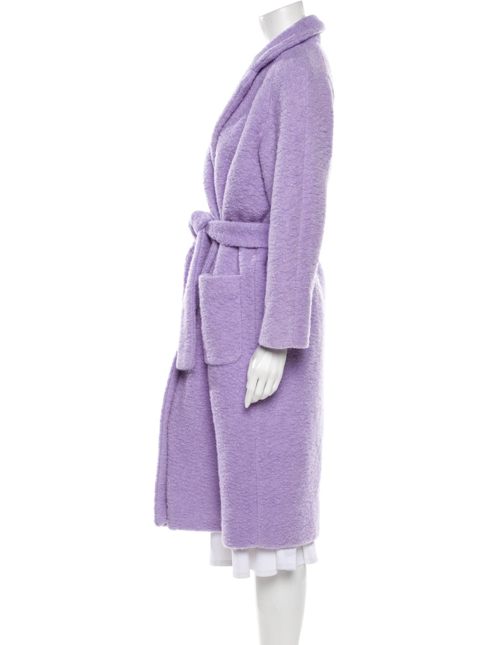 Ganni Coat Purple - image 2