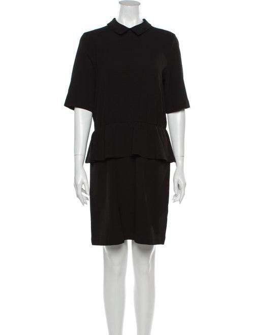 Ganni Mini Dress Black - image 1