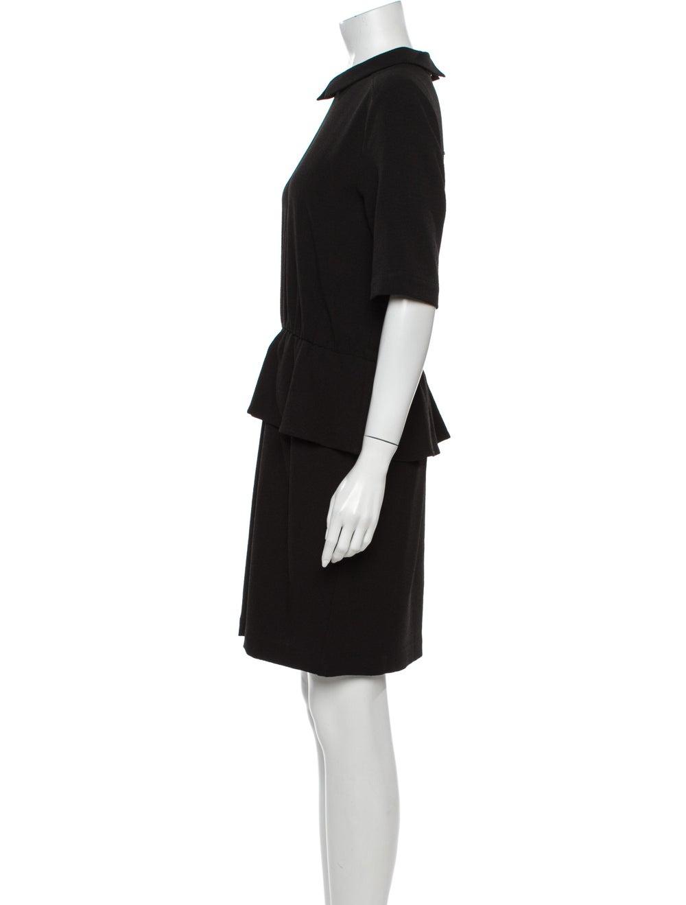 Ganni Mini Dress Black - image 2