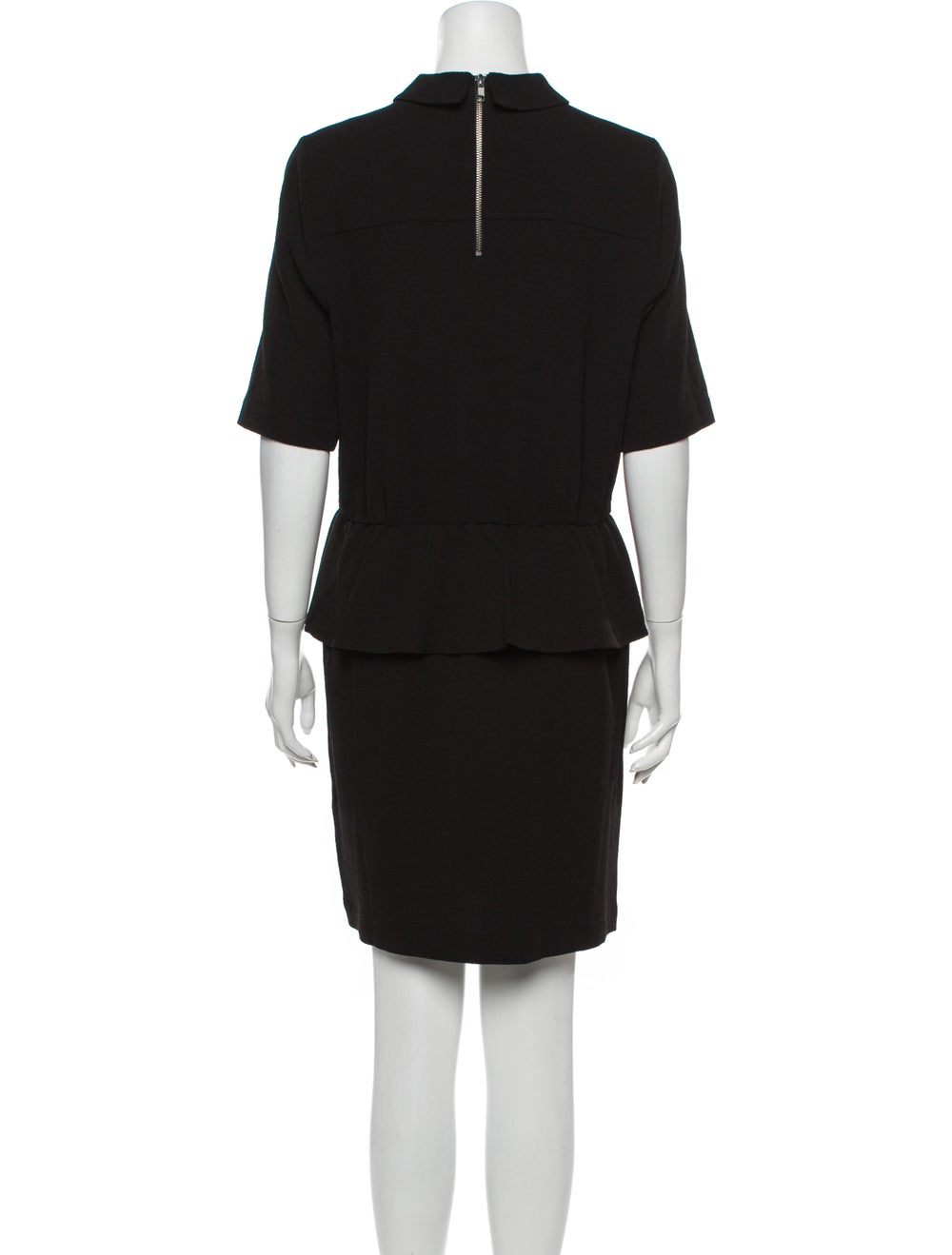 Ganni Mini Dress Black - image 3