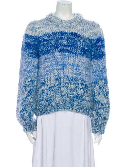 Ganni Wool Striped Sweater Wool - image 1