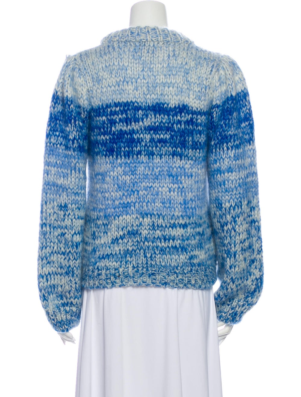 Ganni Wool Striped Sweater Wool - image 3