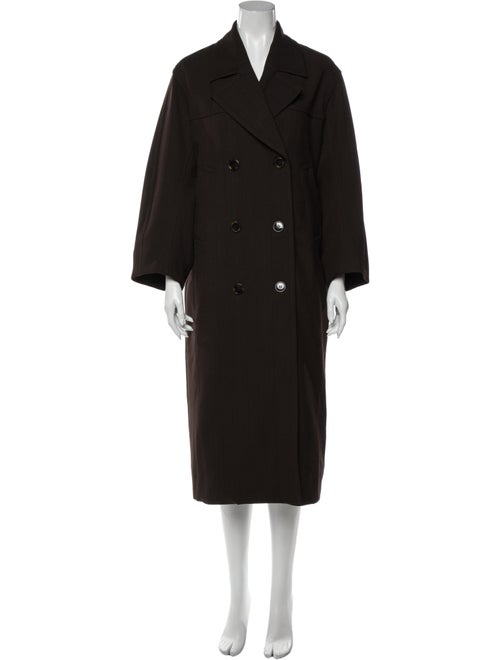 Ganni Coat Brown