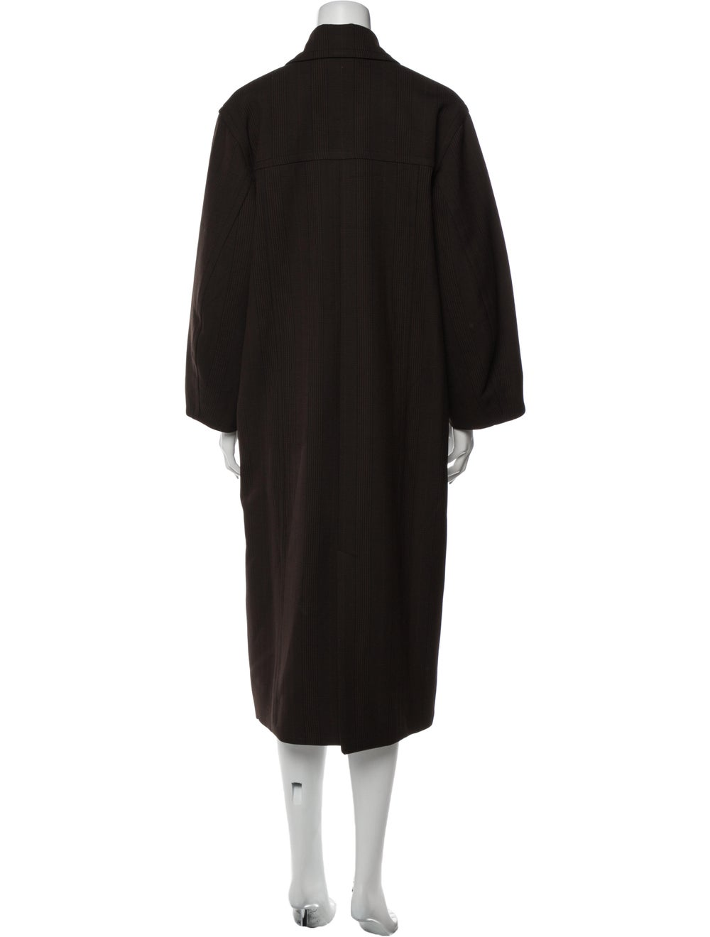 Ganni Coat Brown - image 3