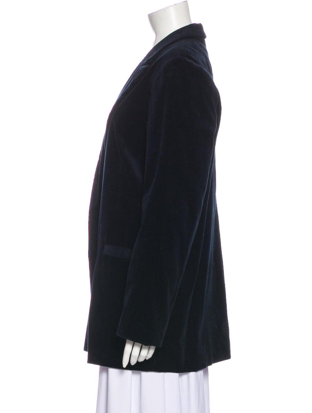 Ganni Coat Blue - image 2