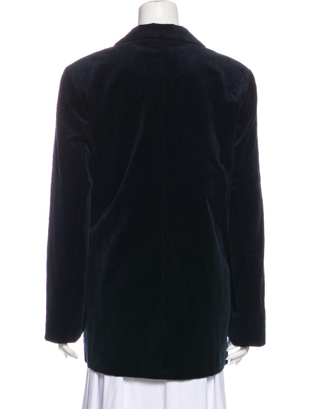Ganni Coat Blue - image 3