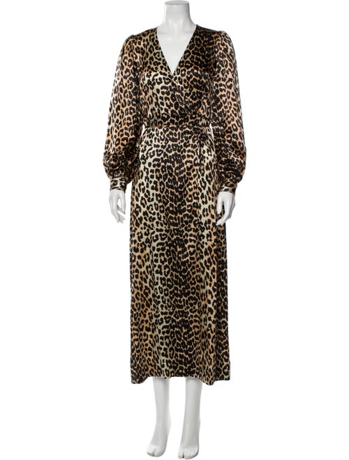 Ganni Silk Long Dress - image 1