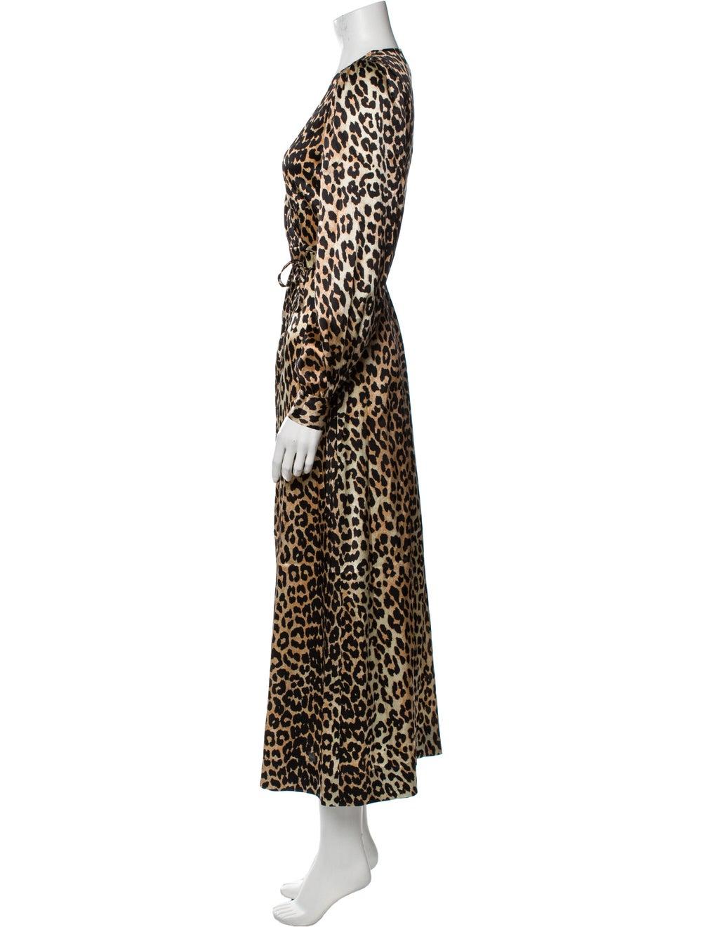 Ganni Silk Long Dress - image 2