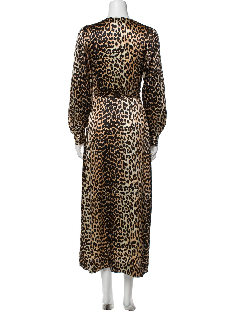 Ganni Silk Long Dress - image 3