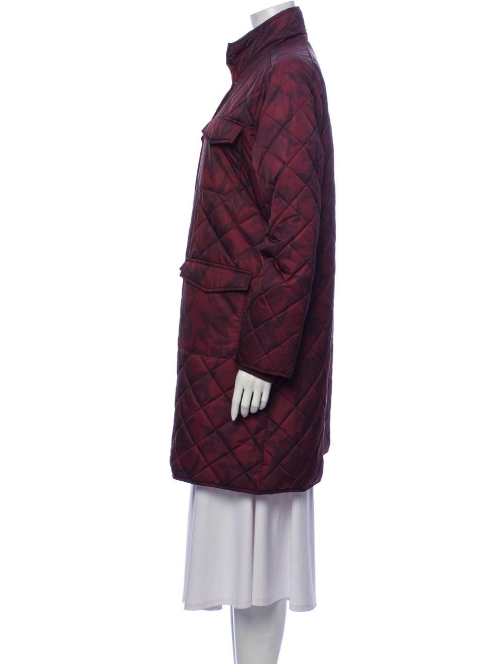 Ganni Printed Coat Brown - image 2
