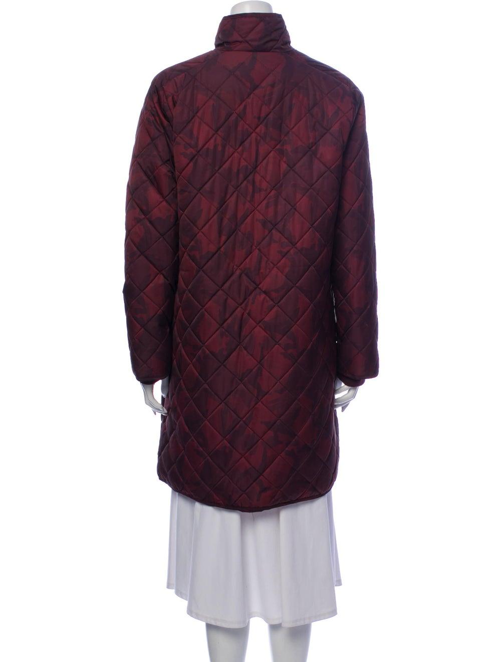 Ganni Printed Coat Brown - image 3