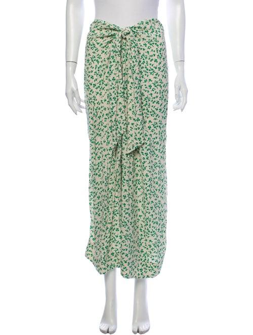 Ganni Printed Midi Length Skirt