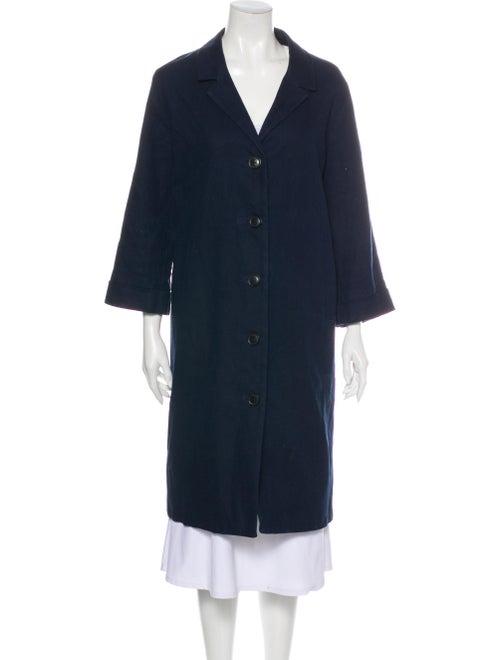 Ganni Coat Blue