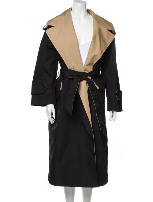 Ganni Trench Coat w/ Tags Black
